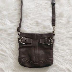 COACH Vintage Soho Brown Leather Crossbody Bag